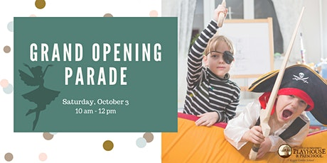 Grand Opening Celebration Parade tickets