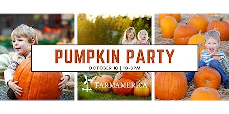Pumpkin Party tickets