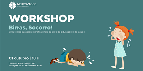 Workshop: Birras, socorro! bilhetes