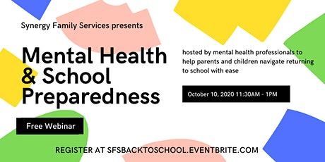 Mental Health & School Preparedness tickets