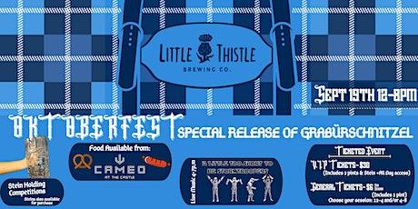 Little Thistle OktoberFest tickets