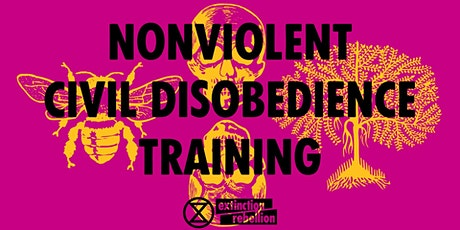Non-Violent Civil Disobedience Training tickets