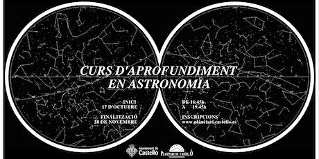 Curs d'Aprofundiment en Astronomia entradas