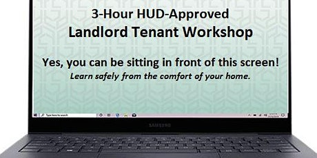 Virtual 3-Hour HUD-Approved Landlord Tenant Workshop tickets