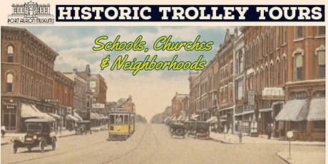 Historic Trolley Tours: Schools, Churches  & Neighborhoods - Holiday Lights tickets