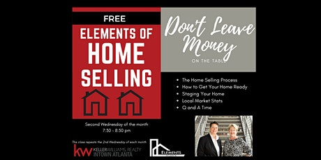 Elements of Home Selling tickets