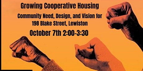 Growing Cooperative Housing in Lewiston tickets