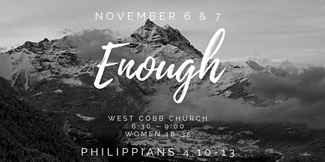 Enough- Young Women's Event 2020 tickets
