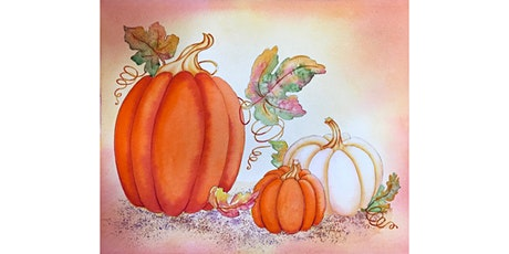 Watercolor Paint-along Pumpkin Patch with Wendy framst tickets