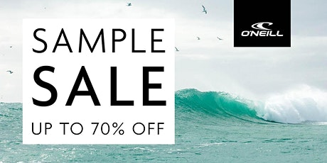 O'NEILL Sample Sale - September 2020 - Santa Ana, CA tickets