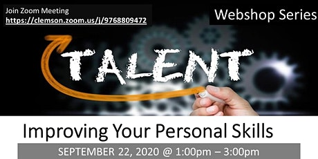 IMPROVING YOUR PERSONAL SKILLS tickets