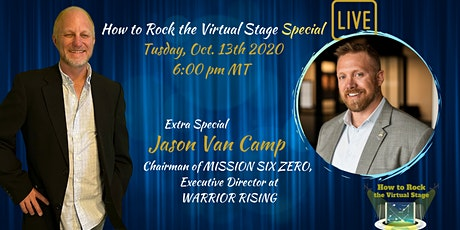 How to Rock the Virtual Stage Special with Jason Van Camp tickets