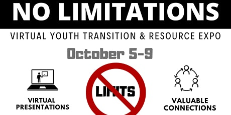 No Limitations! Virtual Youth Transition & Resource Summit tickets