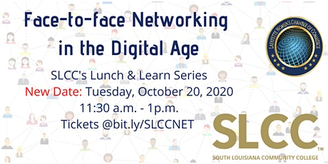 Networking Face-to-face Lunch & Learn Hosted by SLCC & WCC tickets
