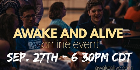 Awake and Alive Fall Online Gathering tickets