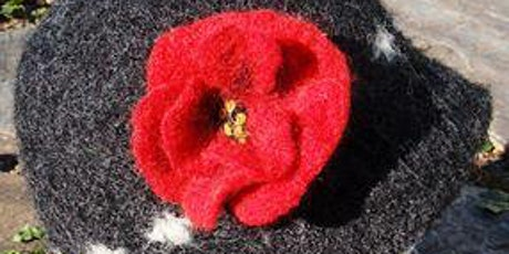 Needle Felted Poppies Workshop tickets