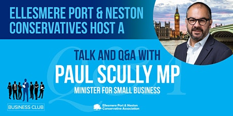 EP&N Conservatives Business Club hosts the Small Business Minister   Q&A tickets
