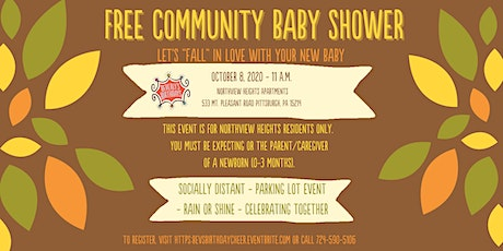 Free Community Baby Shower - Northview Heights Residents ONLY tickets