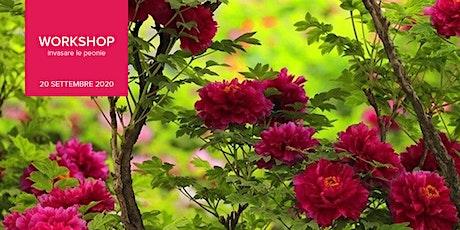 WORKSHOP | Mettere a dimora una pianta di peonia, in vaso o in terra biglietti