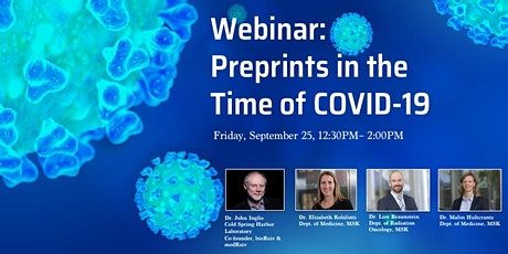 Preprints in the Time of COVID-19 tickets
