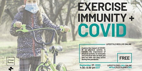 Exercise, Immunity and COVID tickets