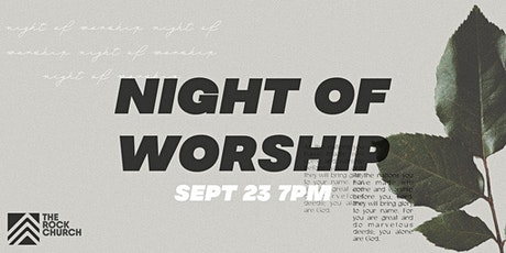 The Rock Church Night of Worship tickets