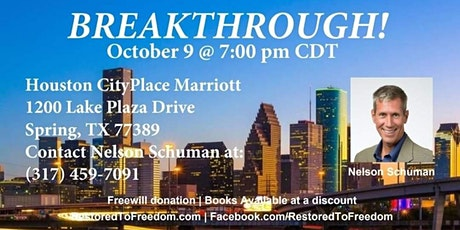 Breakthrough in Houston, TX tickets