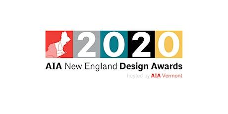 AIA New England Design Awards Program tickets