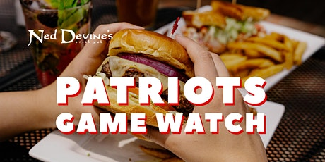 Patriots Game on the Big Screen tickets