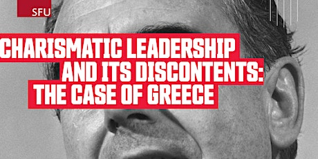 Charismatic leadership and its discontents: the case of Greece tickets
