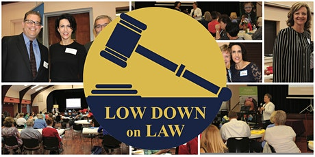 Low Down on Law (Virtual!) tickets