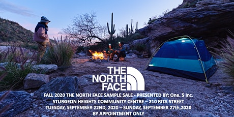 ONE. 5 INC. PRESENTS: THE NORTH FACE SAMPLE SALE - FALL 2020 tickets