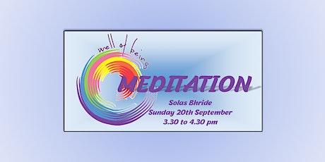 Kildare Town Wellness Weekend ~ Meditation tickets