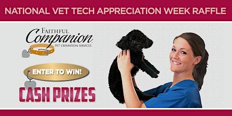 Faithful Companion: Vet Tech Appreciation Week Cash Raffle 2020 tickets