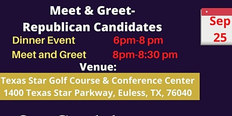 Meet our Candidates Dinner Event -SEARC tickets