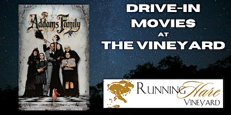 Drive-In Movie at the Vineyard- The Addams Family tickets