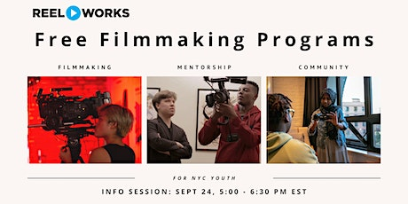 Reel Works After School Information Session tickets