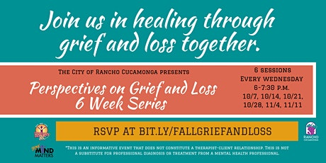 Fall Perspectives on Grief and Loss Series tickets