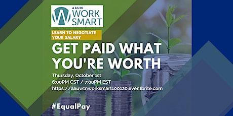 AAUW Murfreesboro hosts Work Smart Salary Negotiation Workshop tickets