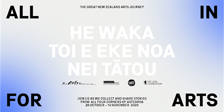ALL IN FOR ARTS - Hakatere Ashburton tickets