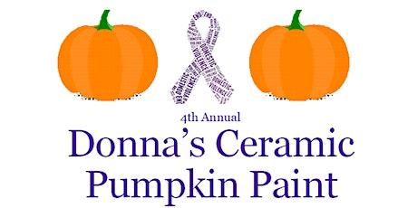 Annual Ceramic Pumpkin Paint tickets