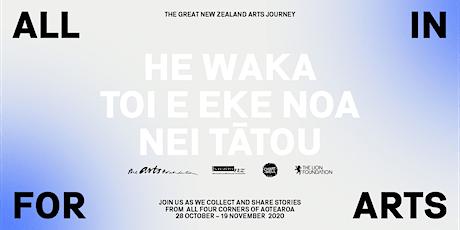 ALL IN FOR ARTS - Taranaki tickets