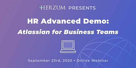 HR Advanced Demo: Atlassian for Business Teams tickets