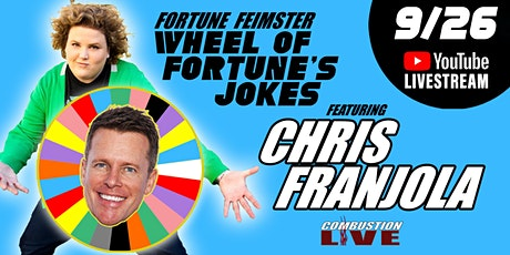 Wheel of Fortune's Jokes, Featuring Chris Franjola and Fortune Feimster tickets