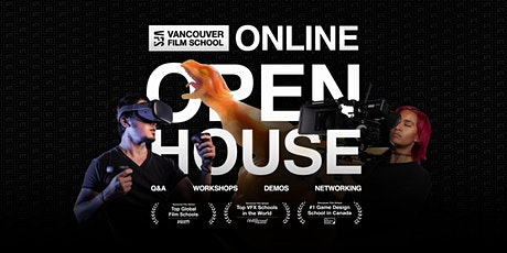 Vancouver Film School - Online Open House -Fall 2020 tickets