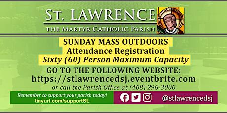 SUNDAY, September 20 @ 8:00 AM Mass Registration entradas