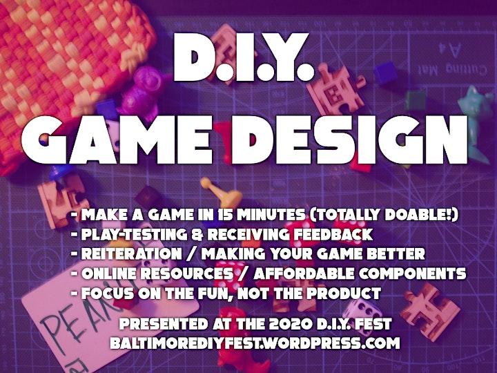 DIY Fest Presents: Tabletop Gaming image