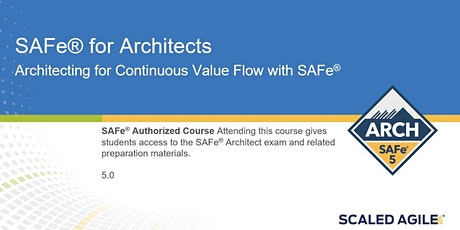 SAFe for Architects with SAFe® ARCH 5.0 Certification tickets