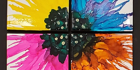 Alcohol Ink Flower tickets