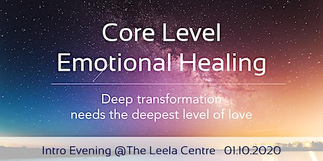 Event name Core Level Emotional Healing - Transform on the Deepest Level tickets